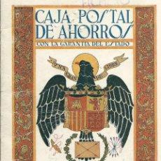 Documentos bancarios: LIBRETA DE LA CAJA POSTAL DE AHORROS DE Dª TEODOSIA MELENDEZ DEL 31 - 7 - 1949. Lote 50763067