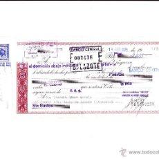Documentos bancarios: CHEQUE - TALONARIO - PAGARE- BANCO CENTRAL S.A. - AÑO 1974 - A FAVOR DE ELECTRODOMESTICOS AMADOR. Lote 51469771