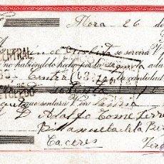 Documentos bancarios: MORA DE TOLEDO. LETRA DE CAMBIO CLASE 7º 26-10-1949. (VER ORTOGRAFIA). Lote 52788084