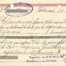 Documentos bancarios: ** CT129 - LETRA DE CAMBIO CLASE 4ª - 1948 - RF12. Lote 53543617