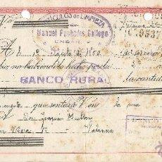 Documentos bancarios: ** CT131 - LETRA DE CAMBIO CLASE 10ª - 1950 - RF12. Lote 53543937
