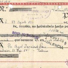 Documentos bancarios: ** CT132 - LETRA DE CAMBIO CLASE 11ª - 1950 - RF12. Lote 53544035