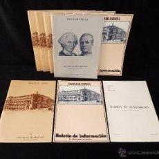 Documentos bancarios: LOTE DE 11 NÚMEROS BOLETÍN DE INFORMACIÓN BANCO DE ESPAÑA 1980-83. Lote 54720578