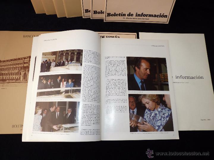 Documentos bancarios: LOTE DE 11 NÚMEROS BOLETÍN DE INFORMACIÓN BANCO DE ESPAÑA 1980-83 - Foto 2 - 54720578