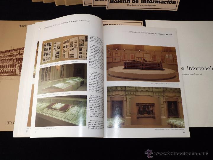 Documentos bancarios: LOTE DE 11 NÚMEROS BOLETÍN DE INFORMACIÓN BANCO DE ESPAÑA 1980-83 - Foto 3 - 54720578