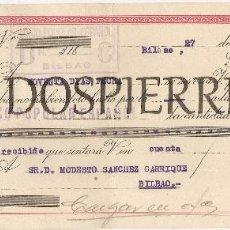Documentos bancarios: LETRA DE CAMBIO, BANCO POPULAR, 1949. Lote 56255556