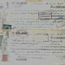 Documentos bancarios: 2 LETRAS DE CAMBIO - EMITIDAS EN - MADRID - EL 8 - 3 - 1935 Y 16 - 5 - 1935. Lote 57706479