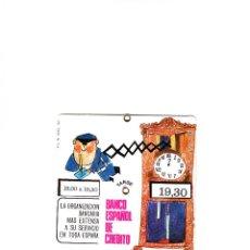 Documentos bancarios: PUBLICIDAD BANCO ESPAÑOL DE CRÉDITO AÑO 1967. Lote 58159714