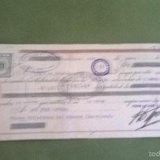 Documentos bancarios: BANCO BILBAO DE TOMELLOSO . Lote 58266445