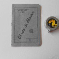 Documentos bancarios: LIBRETA DE AHORROS, CAJA GENERAL DE AHORROS Y MONTE DE PIEDAD , GRANADA 1958. Lote 58376402