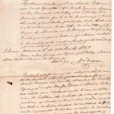 Documentos bancarios: 2 PAGARES FECHADOS EN 1869. Lote 59940211