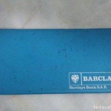 Documentos bancarios: BARCLAYS BANK. FUNDA TALONARIO DE CHEQUES. Lote 62462144