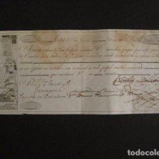 Documentos bancarios: LETRA DE CAMBIO - VALLS AÑO 1821 - VER FOTOS - (V-6694) . Lote 62608184