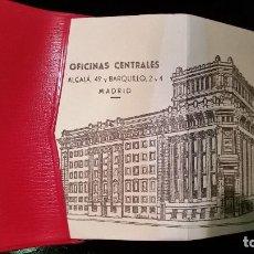 Documentos bancarios: MINI AGENDA BANCO CENTRAL AÑO 1961. Lote 64456279