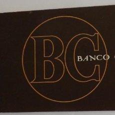 Documentos bancarios: TALONARIO BANCO CENTRAL AÑOS 80. Lote 64517811