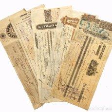 Documentos bancarios: LOTE 5 LETRA LETRAS DE CAMBIO DE LA HABANA CUBA AÑOS 1873 - 1894 PUROS TABACOS HABANOS... (VER). Lote 65686810