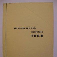 Documentos bancarios: INDUSTRIAS Y ABONOS DE NAVARRA, S.A. - MEMORIA EJERCICIO 1968. Lote 66943550