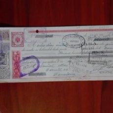Documentos bancarios: LETRA DE CAMBIO BANCO HERRERO BENAVENTE 1956. Lote 95134959