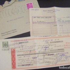 Documents bancaires: JML LETRA DE CAMBIO BANCO ESPAÑOL CRÉDITO MURCIA A CUEVAS ALMERIA. SELLO CLASE 12ª 15 PESETAS 1971.. Lote 95514507