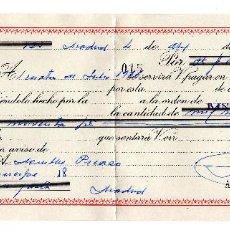 Documentos bancarios: PAGARE 1966, LETRA DE CAMBIO, BANCO CENTRAL, TIMBRE FISCAL. Lote 96709499