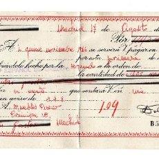 Documentos bancarios: PAGARE 1966, LETRA DE CAMBIO, BANCO ESPAÑOL DE CREDITO, TIMBRE FISCAL. Lote 96709555