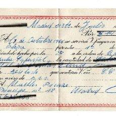 Documentos bancarios: PAGARE 1966, LETRA DE CAMBIO, BANCO POPULAR ESPAÑOL, TIMBRE FISCAL. Lote 96709615