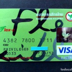 Documentos bancarios: TARJETA BANCARIA VISA ELECTRON-KASIKORN BANK-PRIVELEGED.. Lote 97484479