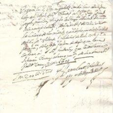 Documentos bancarios: PAGARE. VALLADOLID. 200 REALES DE VELLON. 1701. VER. Lote 101280419