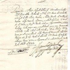Documentos bancarios: PAGARE. VALLADOLID. 320 REALES DE VELLON. 1707. VER. Lote 101280511