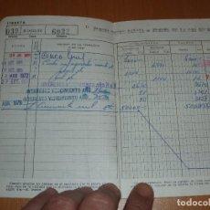 Documentos bancarios: CARTILLA DE CAJAMADRID, AÑOS 1970. Lote 102645787