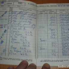 Documentos bancarios: CARTILLA DE CAJAMADRID AÑOS 1970 III. Lote 102645923