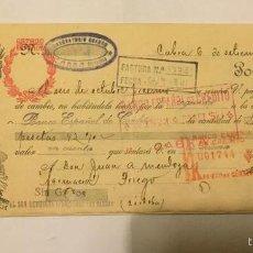Documentos bancarios: RECIBOS BANCO ESPAÑOL DE CRÉDITO AÑO 1941. Lote 53453151
