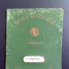 Documentos bancarios: LIBRETA CAJA DE AHORROS,BANCO DE VIZCAYA,SAN SADURNI DE NOYA 1953 (DESCRIPCIÓN). Lote 103560991