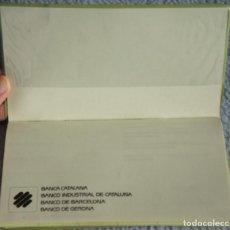 Documentos bancarios: DIETARIO/AGENDA DE BANCA CATALANA, BANCO INDUSTRIAL DE CATALUÑA, BANCO DE BARCELONA, BANCO DE GERONA. Lote 105905159