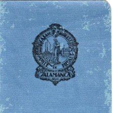 Documentos bancarios: LIBRETA ORDINARIA CAJA DE AHORROS Y MONTE DE PIEDAD DE SALAMANCA NUEVO SIN UTILIZAR 1950. Lote 106601927
