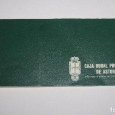 Documentos bancarios: TALONARIO DE CHEQUES CAJA RURAL PROVINCIAL DE ASTURIAS. Lote 106804199