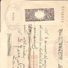 Documentos bancarios: LETRA DE CAMBIO 1896.. Lote 107496715