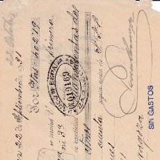 Documentos bancarios: LETRA PEDRO DOMECQ JEREZ DE LA FRONTERA CÁDIZ 1931. Lote 109179891