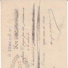 Documentos bancarios: ANGEL SANCHA MARTÍNEZ LOGROÑO 1931. Lote 109182631