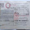 Documentos bancarios: POLIZA OPERACIONES DE BOLSA ( AÑO 1940 ) DEUDA FERROVIARIA / CLASE 8ª ( REPUBLICA ) ESTADO ESPAÑOL. Lote 109356995