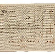 Documentos bancarios: LETRA DE CAMBIO TOMÁS CANO. OVIEDO ASTURIAS 1870. Lote 110227115