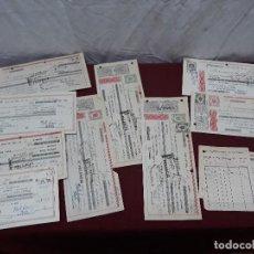 Documentos bancarios: LOTE 10 PAGARES DE PALENCIA Y VALLADOLID... FINALES 50 Y 60. Lote 110259887