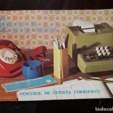 Documentos bancarios: BONITA CARTILLA LIBRETA BANCO DE CRÉDITO BALEAR SIN USAR. Lote 110799723