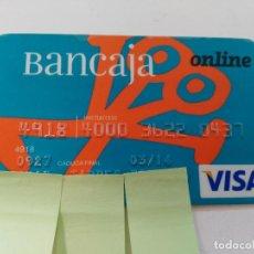 Documentos bancarios: ((TC-110) TARJETA BANCO BANCARIA BANCAJA. Lote 112788311