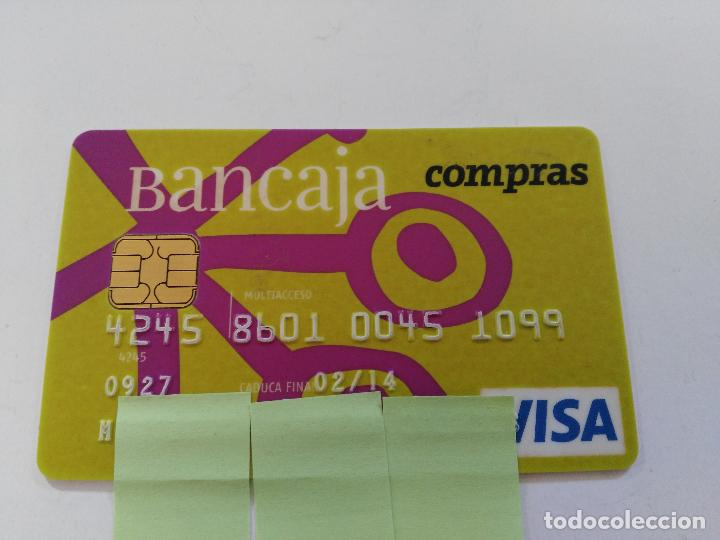 ((TC-110) TARJETA BANCO BANCARIA BANCAJA (Coleccionismo - Documentos - Documentos Bancarios)