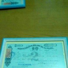 Documentos bancarios: BANCO ESPAÑOL DEL RÍO DE LA PLATA 1914. Lote 116489199