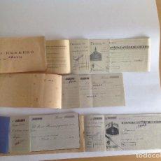 Documentos bancarios: 5 TALONARIOS INCOMPLETOS BANCO HERRERO. BANCO ESPAÑOL DE CRÉDITO ( BANESTO). Lote 118855135