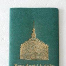 Documentos bancarios: CARTILLA BANCO ESPAÑOL DE CREDITO - CAJA DE AHORROS AÑO 1956 . Lote 124462163