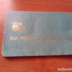 Documentos bancarios: CARTILLA, LIBRETA DE AHORRO - CAJA PROVINCIAL DE AHORROS DE CUENCA - 1978. Lote 125650023