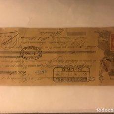 Documentos bancarios: VALENCIA. LETRA DE CAMBIO. 250 PESETAS (A.1921). Lote 125962650